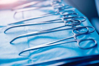 Surgical equipment and medical devices in operating room